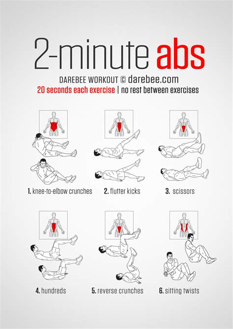 ab exercises 187 health and fitness