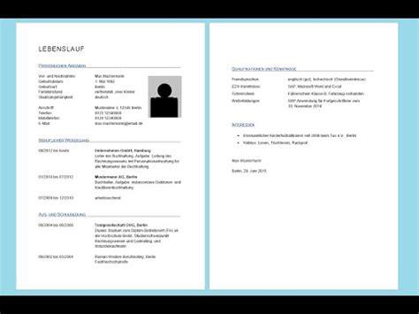 Lebenslauf Template Word 2010 To Mp3 Lebenslauf In Word Erstellen