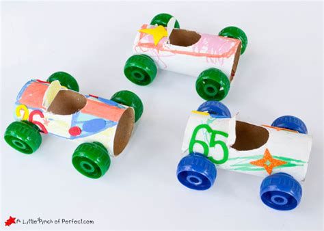 Toilet Paper Roll Car Craft - 55 kid s craft ideas national children s crafts day