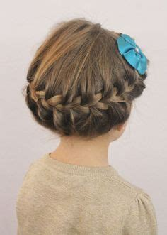 8 easy little girl hairstyles sweetest bug bows girlie little girl braids on pinterest kid braids kid