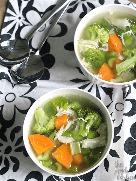 Chicken Detox Soup Diet by Chicken Detox Soup And My Health Journey Update The