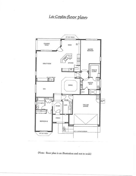 floor plan la pebblecreek real estate floor plan la costa