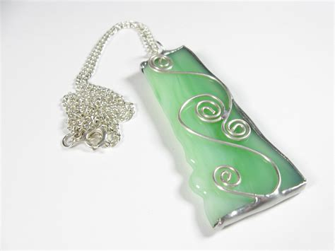 how to make glass pendant jewelry flowerglassart beautiful stained glass pendant with