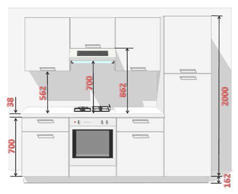 hauteur meuble haut de cuisine installation climatisation gainable hauteur table de