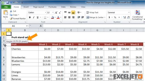 excel format row height to fit text how to expand rows and columns in excel 2010 how to