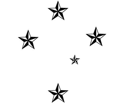 southern cross tattoo ideas southern cross outline clipart best