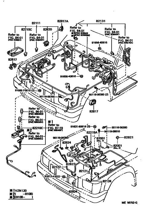 Wrg 1374 89 Toyota Pickup 4x4 Wiring Harness