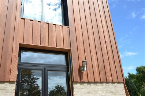 Modern House Exterior quality cumaru cladding available in a range of profiles