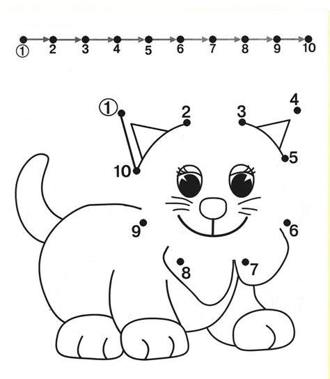 printable dot to dot worksheets for preschool connecting dots worksheets for preschoolers easy connect