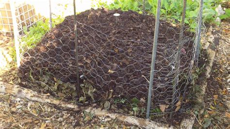 how to make a compost pile in your backyard our fall winter compost pile ensuring a steady supply of