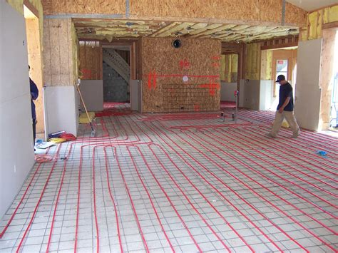 Heated Floor Installation by Heated Tile Floor Temperature With Innovative Electric