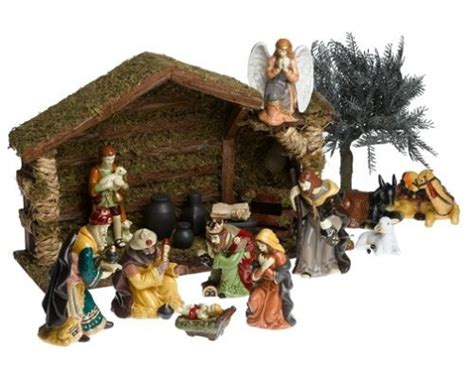 small nativity set nativity pinterest