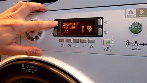 hotpoint ariston waschmaschine pralka hotpoint wmd 823 b