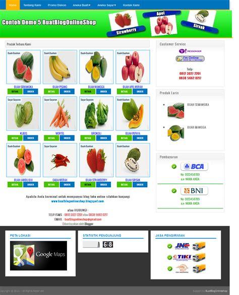 membuat blog online shop gratis buat blog online shop paket blog toko online