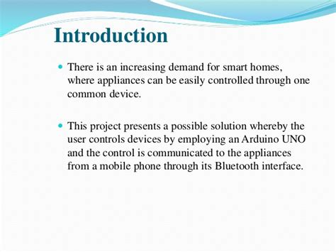 development of a low cost reliable scalable home