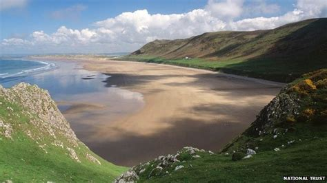 Rhossili Bay Cottages by Rhossili Bay Best In Wales Qc News