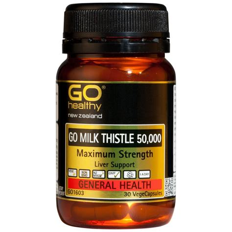 Dairy Detox Forum by Go Healthy Go Milk Thistle 50 000 Detox Cleansing