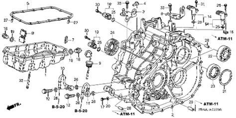 honda civic automatic transmission filter imageresizertool com 2004 honda civic transmission diagram honda auto parts catalog and diagram