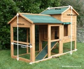 Outdoor Rabbit Hutch Plans Balmoral Rabbit Hutch