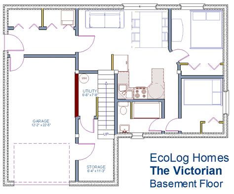 basement blueprints 960 sqft the victorian