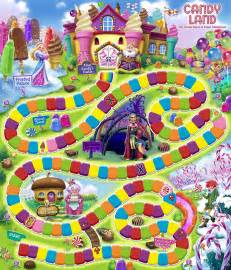 candyland board template board the o