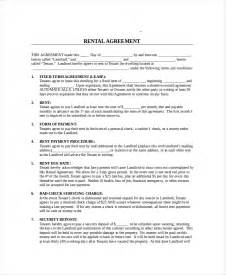 month to month lease agreement 7 free pdf word