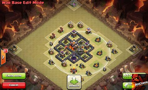 layout defense coc th 3 layout th3 4 5 skema base terbaik clash of clans
