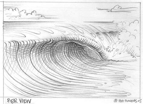 how to draw doodle waves wilbur draw a wave