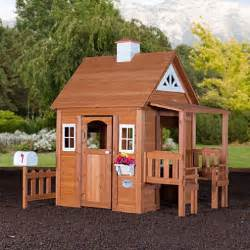 Backyard Discovery Swingsets Woodland Cedar Playhouse Sam S Club