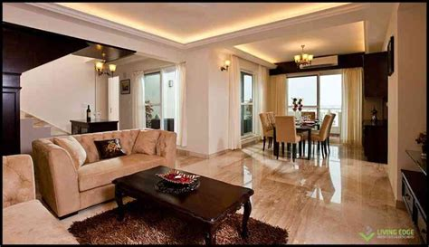 Homes Interiors And Living penthouse interiors in bangalore by living edge architects