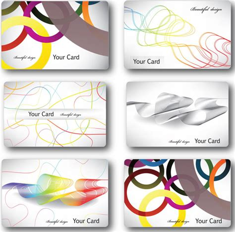 introduction cards templates introduction to personality card vector graphic downloads