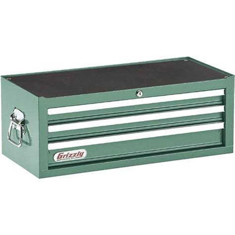 Tool Chest Drawer Slides by H0837 Grizzly 3 Drawer Middle Chest With Bearing