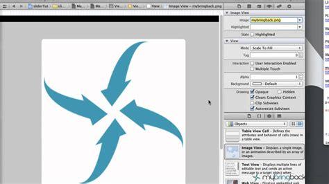 tutorial iphone xcode learn xcode 4 2 tutorial ios ipad iphone 1 31 slider