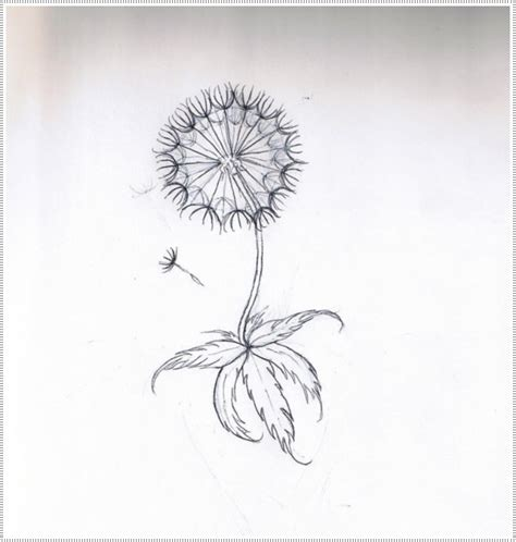 35 kick dandelion tattoo designs