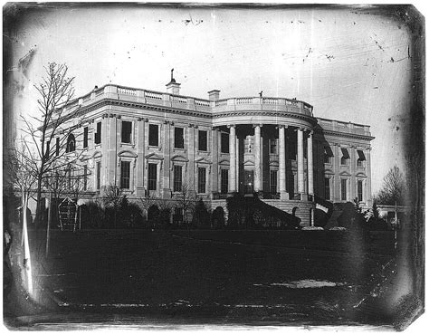 where was the original white house first ladies the white house south lawn