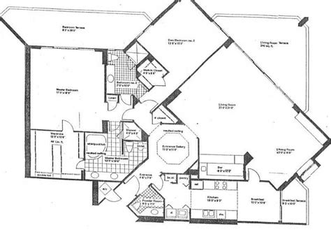 turnberry towers floor plans marina tower of turnberry condos for lease rent 1