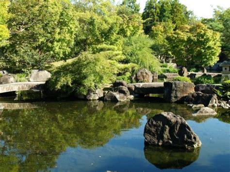 bassin jardin japonais bassin aquatique bassin de jardin dans les jardins japonais