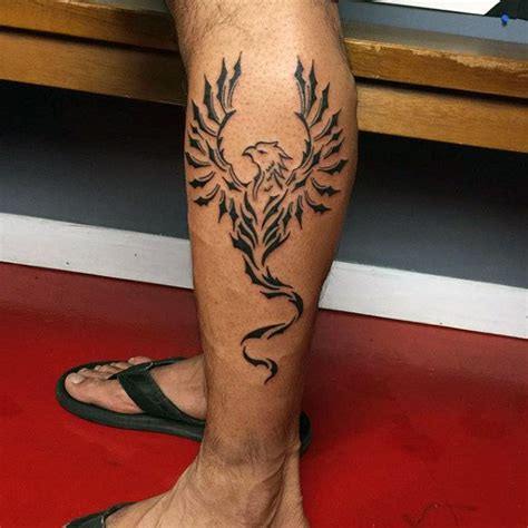 lower leg tattoo for men 40 tribal designs for mythology ink ideas