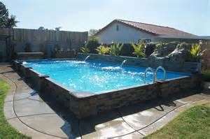 Backyard Pools Prices Raised In Ground Pools Pool To The Masses At An
