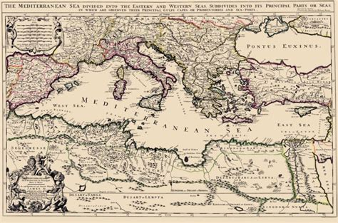 map of mediterranean mediterranean map