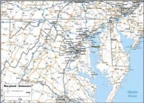 maryland delaware map map maryland delaware map to print