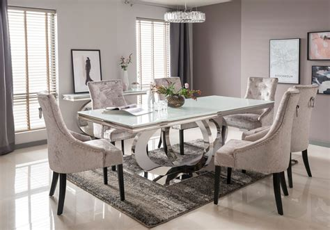 glass dining table and 8 chairs glass dining table and chairs diedeutschlehrer