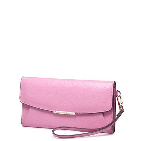 Purse Nucelle Pink 070347 04 nucelle genuine leather clutch bag pink
