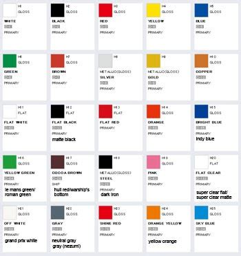 Dijamin Mr Color 25 1 gsi creos aqueous hobby color unofficial color chart mech9 anime and mecha review site