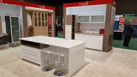 kitchen in a closet quest engineering attends cabinets closets conference expo