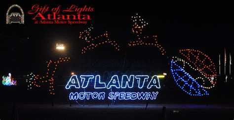 atlanta motor speedway lights 6 best places to see lights in atlanta gafollowers