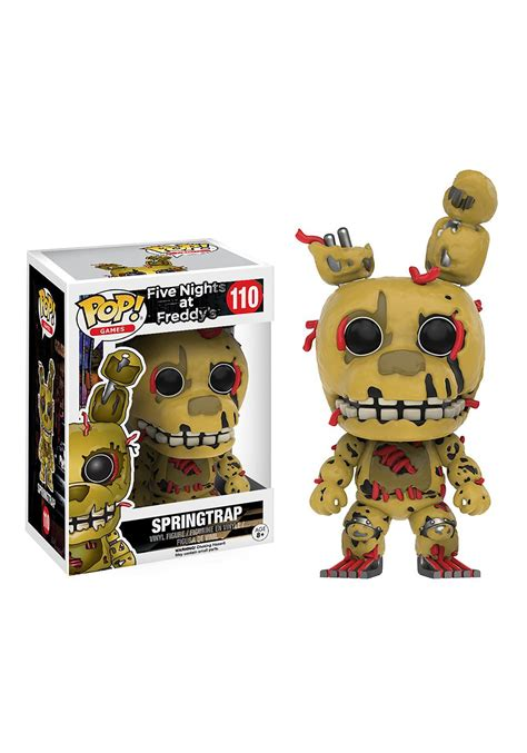 five nights at freddy s figures five nights at freddy s springtrap pop vinyl figure