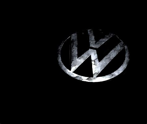 volkswagen logo wallpaper volkswagen logo wallpaper black