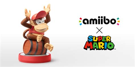 Supersmash Series Diddy Kong Amiibo diddy kong mario collection nintendo