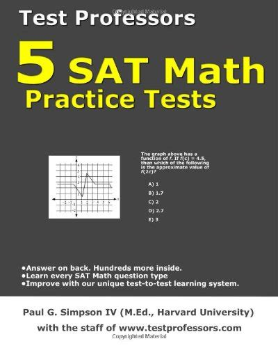 sat math tests prep course books sat math 1 and 2